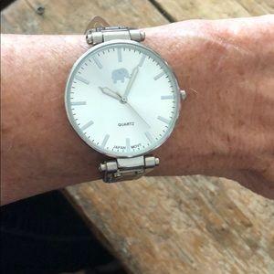 Francesca's Quartz watch silver with gold dots